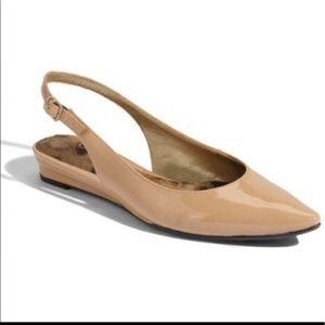 Sam Edelman Women's Ionia Slingback Tan Flat